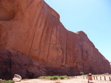 Indrukwekkende rotswanden.