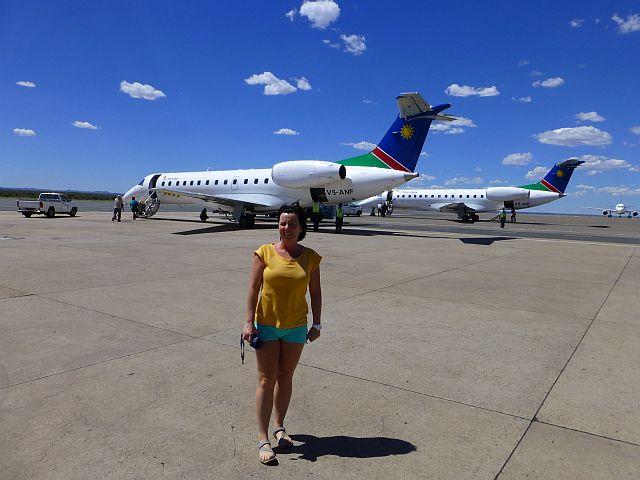 vliegtuig naar Zimbabwe