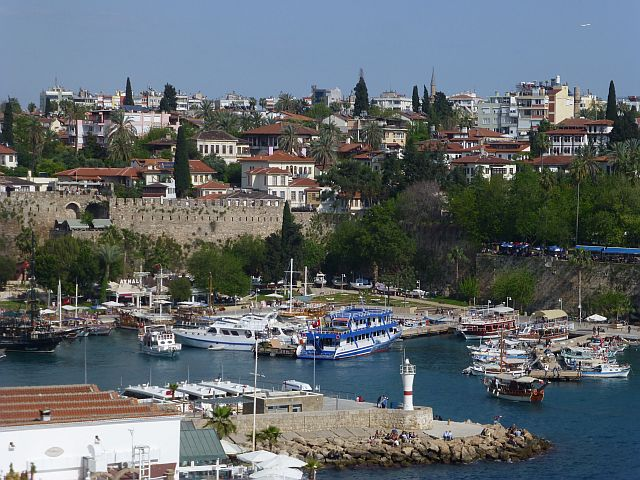 haventje in Antalya